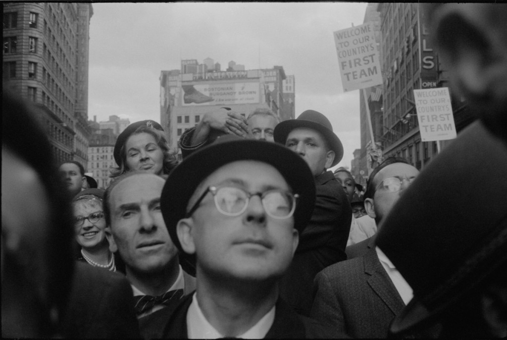Garry Winogrand. Richard Nixon Campaign Rally, New York, 1960
