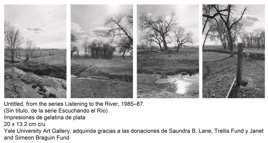 Untitled, from the series Listening to the River, 1985-87. Robert Adams